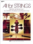 All For Strings: Theory Workbook 1 (Viola)