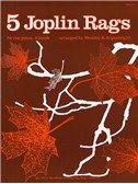 Five Joplin Rags For Piano Duet