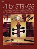 All For Strings Book 3 Full Score And Manual