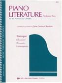 Jane Smisor Bastien: Piano Literature - Volume Five