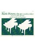 Cornelius Gurlitt: Rustic Pictures Op.190 (Two Pianos, Eight Hands). Sheet Music