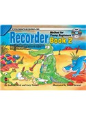 Progressive: Recorder Method For Young Beginners - Book 2 (Book/CD)