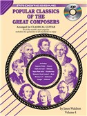Progressive: Popular Classics Of The Great Composers - Volume 4 (Book/CD)