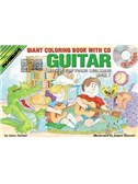 Progressive Guitar Method For Young Beginners: Book 1 - Giant Colouring Book (Book/CD/DVD)
