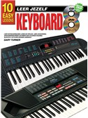 10 Easy Lessons Leer Jezelf Keyboard (Boek/CD/DVD)
