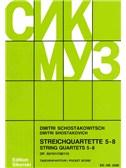 Dmitri Shostakovich: String Quartets 5 - 8