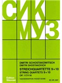 Dmitri Shostakovich: String Quartets 9 - 10