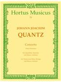 Johann Joachim Quantz: Concerto For Flute In D (Pour Potsdam) (Full Score)