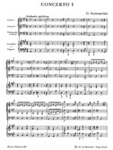 G. B. Sammartini: Concerto For Harpsichord No.1 In A (Score & Parts)