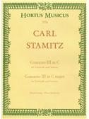 C. Stamitz: Concerto For Cello No.3 In C (Cello & Piano)