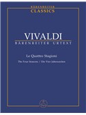 Antonio Vivaldi: The Four Seasons Op.8 Nos.1-4 - Pocket Score (Barenreiter Urtext Edition)
