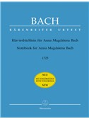 J.S. Bach: Notebook for Anna Magdalena Bach 1725 (Piano with fingerings)