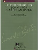 Leonard Bernstein: Sonata For Clarinet And Piano - Revised Edition (Book/CD)