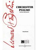 Leonard Bernstein: Chichester Psalms (Vocal Score)