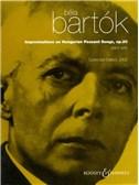 Bela Bartok: Improvisations On Hungarian Peasant Songs Op.20