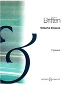 Benjamin Britten: Mazurka Elegiaca Op.23 No.2