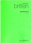 Benjamin Britten: Saint Nicolas Op.42 (Hawkes Pocket Score)