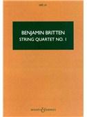 Benjamin Britten: String Quartet 1