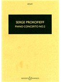Sergei Prokofiev: Piano Concerto No.2 In G Minor Op.16 (Study Score)