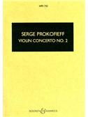 Sergei Prokofiev: Violin Concerto No. 2 (Study Score)