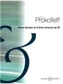 Sergei Prokofiev: Piano Sonata No.5 In C Op.38