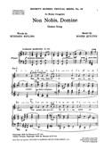 Roger Quilter: Non Nobis Domine (Unison/Piano)