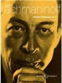 Sergei Rachmaninov: Fantasie (Tableaux) Op.5