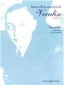 Sergei Rachmaninov: Vocalise Op.34 No.14 (Piano Solo)