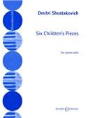 Dmitri Shostakovich: 6 Children's Pieces