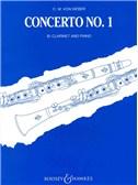 Carl Maria Von Weber: Clarinet Concerto No.1 In F Minor (Clarinet/Piano)