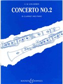 Carl Maria Von Weber: Clarinet Concerto No.2 In E Flat Op.74 (Clarinet/Piano)