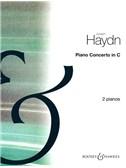 Franz Joseph Haydn: Piano Concerto In C (2 Piano Score)
