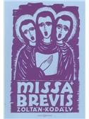 Zoltan Kodaly: Missa Brevis (Vocal Score)