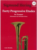 Sigmund Hering: 40 Progressive Etudes (Trumpet Solo)