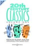 20th Century Classics For Piano Duet - Volume 1