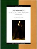 Serge Rachmaninoff: Rhapsody On A Theme Of Paganini