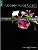 Mary King: Singing In English - Medium/Low Voice (The Boosey Voice Coach)