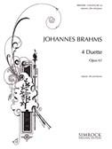 Johannes Brahms: 4 Duets Op.61