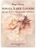 Marini, Biagio : Livres de partitions de musique