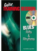 Guitar Training Session: Blues Riffs and Rhythms (Book/CD)