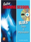 Guitar Training Session: Blues Solos and Improvisation (Book/CD)