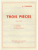 Alexandre Tansman: Trois Pieces - No.1 Canzonetta