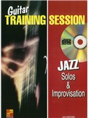 Guitar Training Session: Jazz Solos and Improvisation (Book/CD)