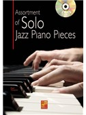 Assortment Of Solo Jazz Piano Pieces (Book/DVD)