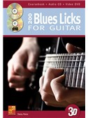 200 Blues Licks For Guitar (Book/CD/DVD)