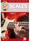 Steve Hall: Scales For The Bass Guitar In 3D (Book/CD/DVD)