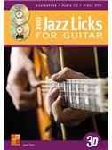 Jason Ross: 200 Jazz Licks For Guitar In 3D (Book/CD/DVD)