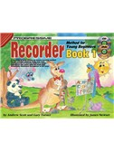Progressive Recorder Method For Young Beginners Book 1 (Book/CD)
