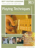 Registry Of Guitar Tutors Guitar Lessons: Playing Techniques (Book/CD)