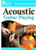 Registry of Guitar Tutors: Acoustic Guitar Playing - Preliminary Grade (Book/CD)